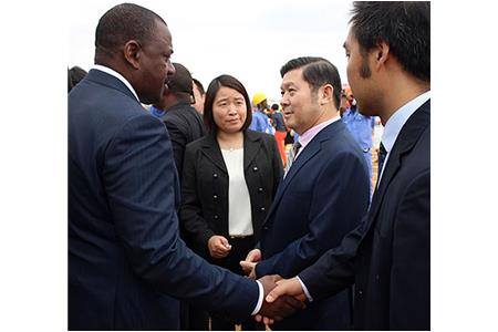 China Haoyuan Group Co., Ltd. Awards and Groundbreaking Ceremony for New Project in Angola Held in L